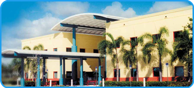 Miami Children's Hospital Dan Marino Outpatient Center is a center for the comprehensive evaluation and treatment of children with special needs. - Image of Dan Marino Cente rExterior