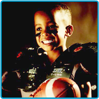 Nicklaus Children's Hospital, formerly Miami Children's Hospital, Concussion and Brain Injury Clinic - Boy Playing With Football