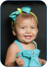The Craniofacial Center at Miami Children's Hospital Florida's state-designated specialty center for children with craniofacial disorders – is a full-service resource.- baby girl smiling