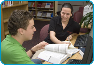 Adolescent Medicine Additional Resources- links to articles on Teen Health Information- Image of teens on computer