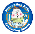 Preventing Falls Enhancing Safety Logo
