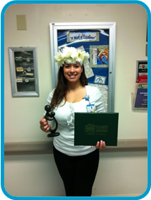 January/February 2012 Daisy Winner:  Janice Serrano, CNS PICU