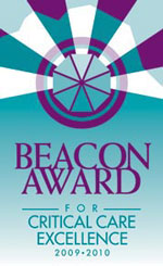BeaconAward for Critical Care Excellence 2009-2010 Logo