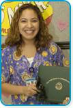 Ana Diaz, RN Daisy Award Recipient March 2007