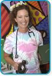 Cindy Pelley Johnson Daisy Award Recipient July 2009