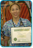 Trish Maynard, RN Daisy Award Recipient May 2007