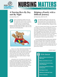 Nursing Matters Volume 13- Winter 2012