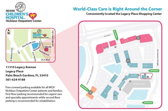 Nicklaus Children 39 S Palm Beach Gardens Outpatient Center