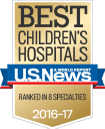 Ranked Among the Best Children's Hospitals by U.S. News & World Report